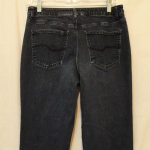 Classic Talbots Stretch Mid-Rise Boot Cut Jeans